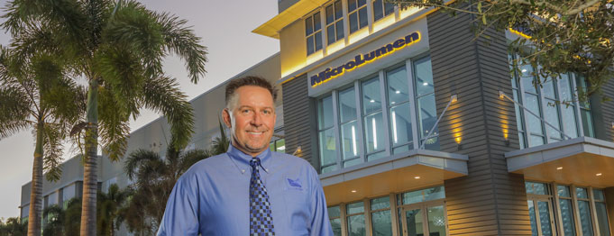 Mark Roberds, president of MicroLumen, the international leader in high performance surgical and medical tubing manufacturers.